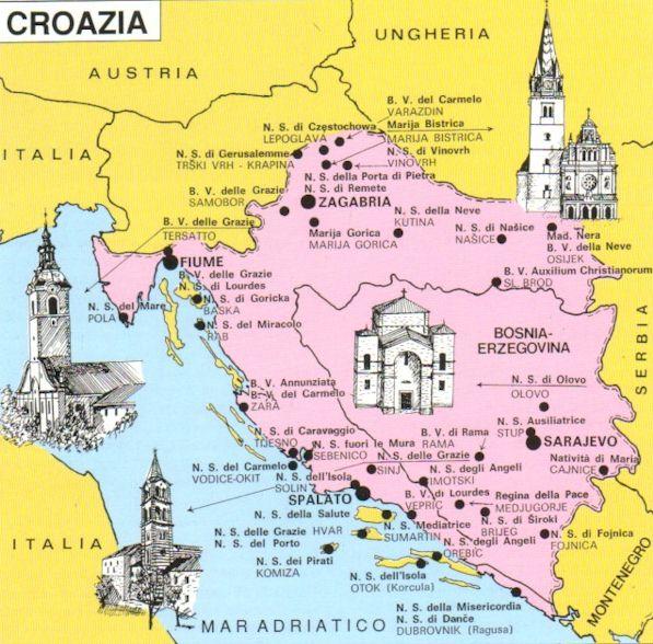 Cartina Turistica Slovenia.Croazia Cartina Turistica